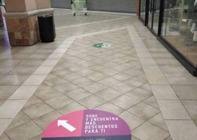 instalacion e impresion floor graphic