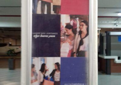 instalacion acrilico mall
