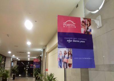 instalacion publitaria mall