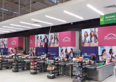 instalacion adhesivos publicitarios mall