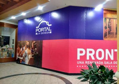 instalacion publicitaria mall
