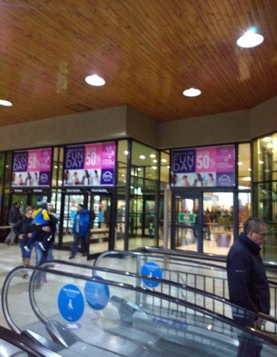 impresion e instalacion grafica en mall