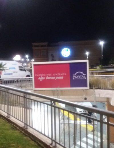 instalacion grafica en mall